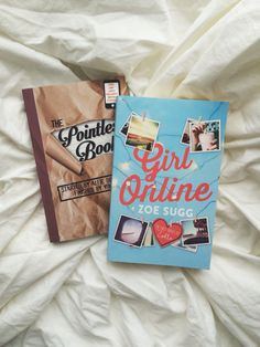 Pointless Book by Alfie Deyes Girl Online by Zoe Sugg