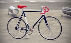 This is a fixed gear bike, because two of out major characters are hipsters, this will be their main mode of transportation. for example they will ride them to visit sye