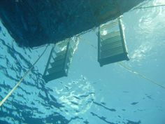 Scuba Diving - Dive Boat Ladders -    Been there :-) this photo depicts my bestselling novel, the Dream Jumper's Promise http://amzn.com/B00AA4FAJC