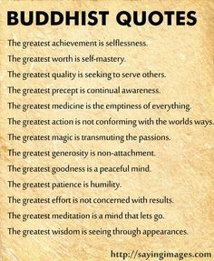 Buddhist mantras - there is a lot of depth and power in these