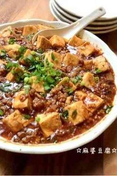 Japanese-style Mabo Tofu 麻婆豆腐