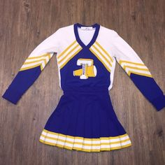 Real Vintage 80's Cheerleading Uniform Ladies Small | eBay