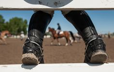 Riding boots suddenly become your favorite shoe when horses enter your life