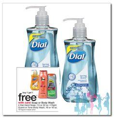 Dial Hand Soap a solo $0.95 en Walgreens