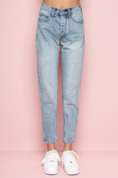 Twentyfour Seven Damen Jeans Dahlia Medium blue stretch denim 247 High rise f