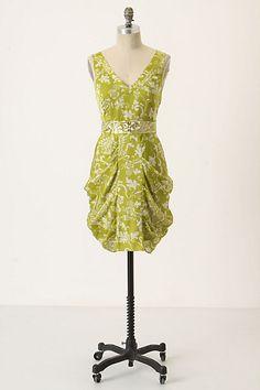 Gilded Garden Dress #anthropologie size 6 by Leifsdottir $328