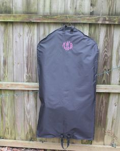 Monogrammed Nylon Garment Bags by ETembroidery on Etsy, $22.00