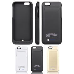 Rasse Ultra Slim 3500mAh iPhone 6 4.7 Battery Charger Case ,Power your New iPhone 6