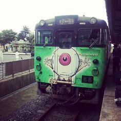 鉄ヲタになりそう #境港 #目玉おやじ #sakaiminato #japan #train Ibaraki, Japanese Things, Go To Japan, Pick One, Pacific Ocean, Places To Travel, Trains, Wrapping, Things To Come