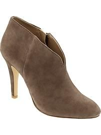 Loving the ryann bootie/ banana republic Crazy Shoes, Me Too Shoes, Michael Kors Outlet, Latest Shoes, Modern Outfits, Shoe Closet, Heeled Boots, What To Wear, Peep Toe