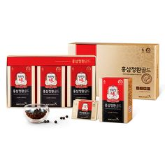 Cheong Kwan Jang] 6-Year Korean Red Ginseng Extract Pill Gold (6Pill x 60Packs), in [Health & Beauty, Dietary Supplements, Nutrition, Herbs & Botanicals | eBay