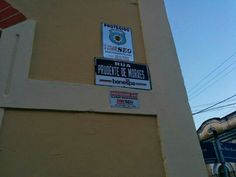 Placa em Pindamonhangaba/2015 Menção ao patrocínio  do  BANESPA