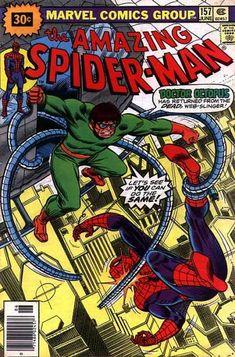 Amazing Spider-Man 157 - Doctor Octopus - Marvel Comics - Peter Parker - The Human Spider - Web Slinger