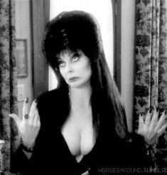 Elvira, Mistress Of The Dark Cassandra Peterson, Dark Beauty, Gothic Beauty, Tetas Gif, Gothic Images, Hot Goth Girls, Carolyn Jones, Yvonne De Carlo, Horror Icons