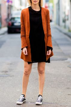 20 Outfits That Prove You Can Wear Converse with Anything - Bohemian Suede from InStyle.com
