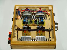 TDA2030 Based DIY HiFi Amplifier by Vortchun