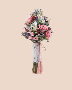 Ramo de novia Silver Bloom Nardo, Color Plata, Color Rosa, Baroque, Glass Vase, Bloom, Natural, Silver, Wedding