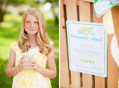 FREE Printable Lemonade Stand goodies