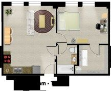 Home Design Map For 450 Sq Ft House Design 500 Sq Ft House Design