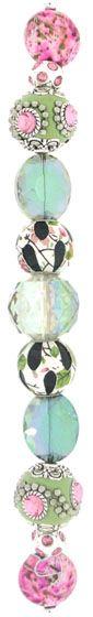 Inspirations Strands - Secret Garden #2 - Jesse James Beads
