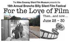 16TH ANNUAL BRONCHO BILLY SILENT FILM FESTIVAL  Fremont, CA