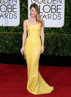 Leslie Mann 2105 Golden Globes