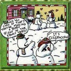 Holiday humor.