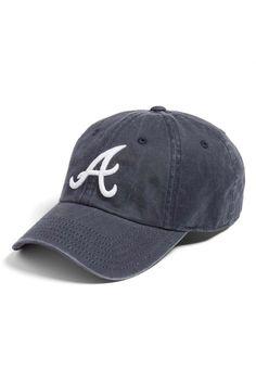 4724dae0386 American Needle Atlanta Braves Baseball Cap in Navy – Henly Atlanta Braves  Hat
