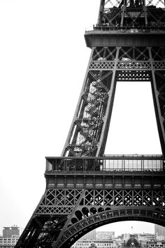 The Eiffel Tower. Put in place as a dramatic entrance to the 1889 Exposition Universelle in Paris.