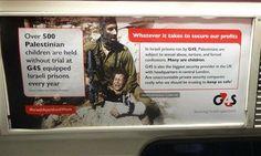 Carteles Anti-Israel aparecen en el Metro de Londres - http://diariojudio.com/noticias/carteles-anti-israel-aparecen-en-el-metro-de-londres/158620/