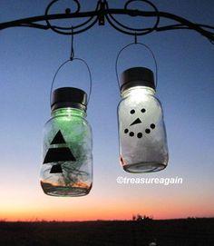 glow jars diy #glowjarswithglowsticks