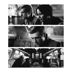 Peeta's expression, poor guy. He wanted to marry Katniss and he wanted it to be real not just for him but for Katniss also.
