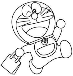 13 Hình ảnh Tranh To Mau Doremon đẹp Nhất Tranh Doraemon