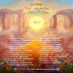 "Jon Bellion ""The Human Condition Tour"" Dates 2016 - TICKETS ON SALE NOW #TheHumanConditionTour #jonbellion"
