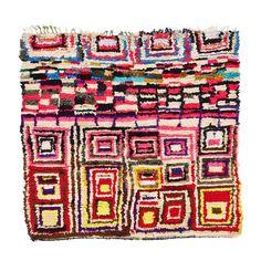 Vintage Boucherouite Rug @abccarpet