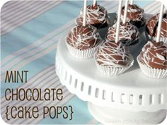Mint Chocolate Cake Pops