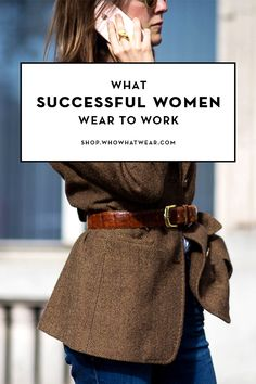"""""""You can have anything you want in life if you dress for it."""" Follow legendary costume designer Edith Head's words of wisdom, and dress for success in these ultra-chic pieces below."""