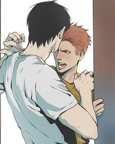 19 Days Manga Español, Marvel Couples, Manhwa, Hot Anime Guys, Gay Art, Fujoshi, Cute Drawings, Webtoon, Cool Art