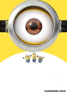 Download FREE Printable Minions Birthday Invitation Templates- UPDATED! ! (FREE PRINTABLE) downloadable Invitations Templates for your next awesome party. Click here to browse the available invitations and edit it online with Drevio Canvas Minion Birthday Invitations, Free Printable Birthday Invitations, Minions, Party Themes For Boys, Birthday Party Themes, Minion Words, Minion Theme, Free Invitation Templates, Free Printables