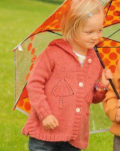 Кофточка с мотивом «Зонтик» - схема вязания спицами. Вяжем Кофты на Verena.ru
