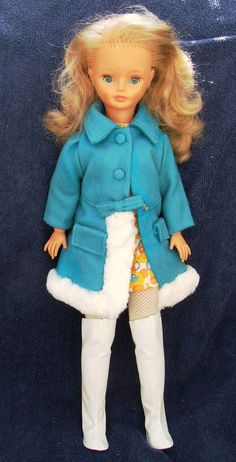 BOXED FRENCH BELLA CATHIE DOLL WITH GROWING HAIR LIKE TRESSY 1977 310+3