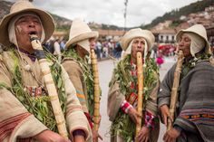 Photo by @ErikaSkogg // Men and women from the nearby regions gather in the Plaza de Armas #Cusco #Peru to celebrate fertility and the yearly harvest. As a result of the festivities they will celebrate once again in 9 months for all the newborns! #PlazadeArmas #Carnival #Cusqueno by natgeotravel