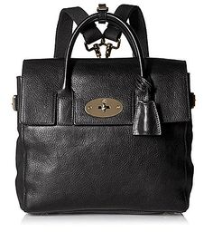 Mulberry Women's Mini Cara Delevingne Bag In Quilted Black Nappa Leather