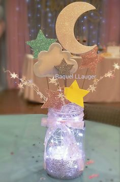 Ideas baby shower themes neutral twinkle twinkle gender reveal for 2019 - Baby shower - Ideas baby shower themes neutral twinkle twinkle gender reveal for 2019 The E - Baby Shower Themes Neutral, Baby Girl Shower Themes, Girl Baby Shower Decorations, Baby Shower Gender Reveal, Baby Shower Centerpieces, Gender Reveal Party Themes, Gender Reveal Decorations Diy, Baby Gender, Babyshower Themes For Girls