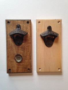 CapCatching Maple WallMounted Bottle Opener by SamsaraWoodWorking