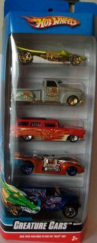 "Hot Wheels 2009 5 Pack ""Creature Cars"" by Mattel. $8.85…"