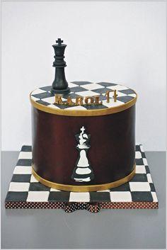 King Birthday, Birthday Cakes For Men, Adult Birthday Party, 50th Birthday, Crazy Cakes, Fancy Cakes, Chess Cake, Cake For Boyfriend, 40th Cake