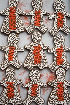 Holiday Decorated Gingerbread Cookies : Classic Gingerbread Cut-Out Cookies (and a lesson in molasses)