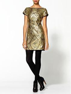 Great for the holiday!Nanette Lepore Society Sequin Sheath Dress | Piperlime