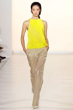 Aquascutum- I like the concept of this idea. It doesn't scream totally neon to me.  Its a good balance.